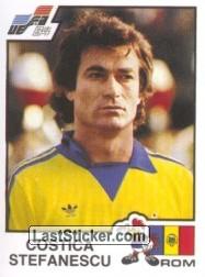 Figurinha de Stefanescu para o Álbum da Eurocopa 84. (Foto: Panini)