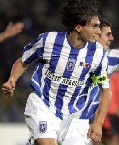 Com 23 anos, Ciuca conquistou a Liga II 2005-06 e já carregava a braçadeira (foto: GSP.ro)