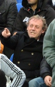 O ex-meia do U Craiova, Ilie Balaci, acompanhou a partida