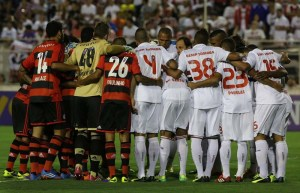 Flamengo si  São Paulo au facut cel mai mare protest
