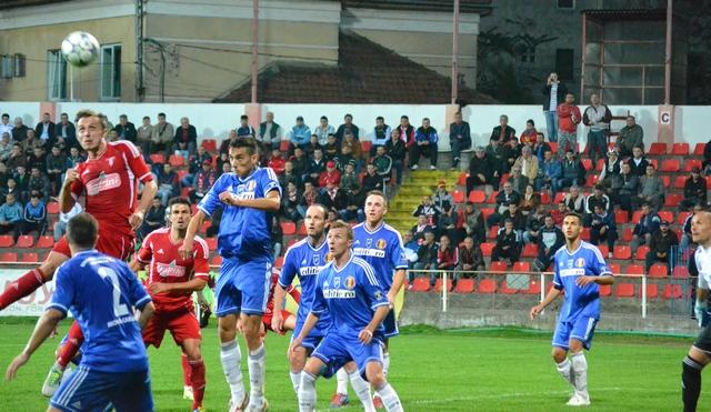 Stiinta levaram apenas o quinto gol em nove jogos (foto: Fanatik.ro)