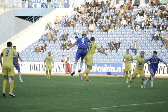 Gol de Stoianof não foi suficiente para vencer (Foto: Fanatik.ro)