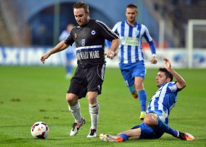 Baird perdeu a chance do jogo contra o CSU no Ioon Oblemenco (foto: Fanatik.ro)