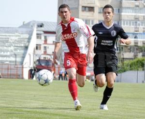 Balan (esq.) atuou pelo Botosani em 2012 (foto: Prosport.ro)