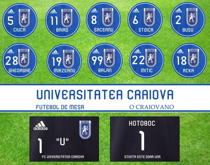 Universitatea Craiova Botão