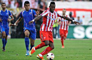 Ifeanyi Onyilo é o terceiro atacante contratado pelo FC U Craiova (foto: Site oficial do Estrela Vermelha