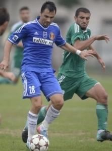 Gheorghe marcou o primeiro gol oficial desde 2011 (foto: Stiri de Sport)