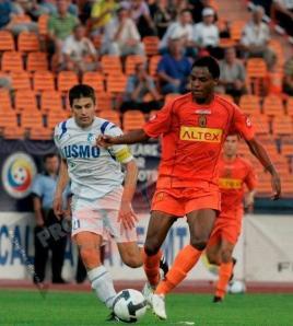 Vinicius Fabbron teve o seu melhor momento no Ceahlaul (foto: Prosport)