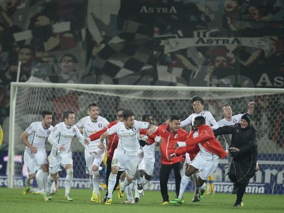 Com gol impedido no último minuto, Astra Giurgiu vai à final da Copa da Romênia pela primeira vez (foto: Alex Nicodim/Gazeta Sporturilor)