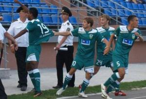 Fabbron estreou no Zimbru com o gol de empate fora de casa contra o Milsami Ursidos (foto: Radu Lisita)
