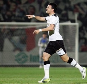 Budescu tem três gols pelo Astra na Copa da Romênia foto: Fanatik.ro)