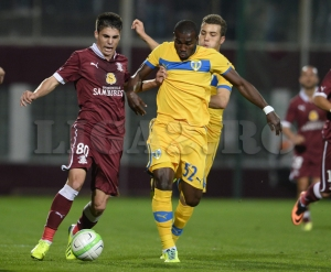 Romario marcou gol contra o Rapid na Copa da Romênia (foto: Liga2.ro)
