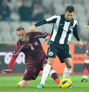 Rapid e U Cluj: Tradição no futebol romeno (Foto: Libertatea.ro)