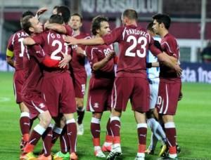 O Rapid Bucareste retorna à elite do futebol romeno (foto: Agerpress)