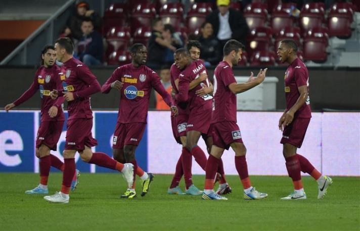 O CFR Cluj perdeu jogadores importantes, mas conseguiu repôr com contratações que deverão manter o time na parte de cima da tabela (foto: Realitatea.net)