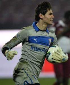 Lung Jr foi revelado no FC Universitatea Craiova e é um dos melhores goleiros romenos atualmente (foto: Gazeta Sporturilor)