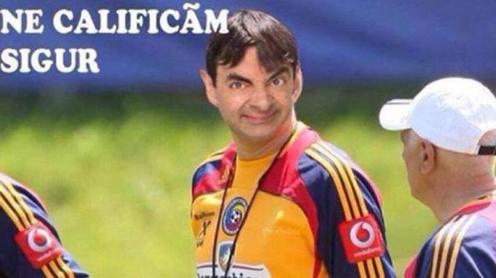 """""""Nos classificaremos com certeza"""", diz o Mr. Bean romeno"""