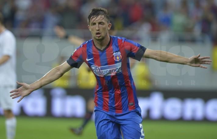 Râpa marcou o primeiro gol da vitória sobre o atual campeão da Noruega (foto: Raed Krishan - Gazeta Sporturilor)