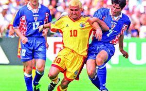 Hagi não pôde evitar a eliminação precoce para a Croácia (foto: Mediafax)