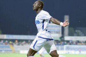 Viera comemora o 200º gol do Pandurii na Liga I (foto: Agerpress)