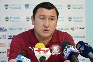 Moldovan foi o técnico do retorno do Rapid à Liga I para esta temporada