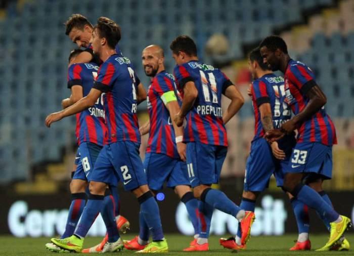 Com golaço e ótima atuação de Chipciu, o Steaua eliminou o Aktobe na Arena Nationala (foto: Libertatea)