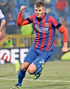Tarnovan vem do Steaua aos 18 anos para ser uma das referências do Gaz Metan (foto: Libertatea)