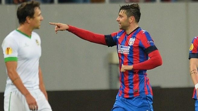 Matador: Rusescu vive boa fase no Steaua e fez os dois gols da vitória sobre o Rio Ave (foto: Getty Images)