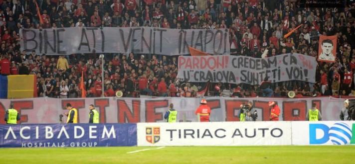 """Perdão, achamos que vocês fossem o U Craiova"": Dinamovistii ironizam CS U Craiova"