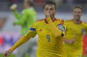 Rusescu marcou o gol no clássico contra a Hungria