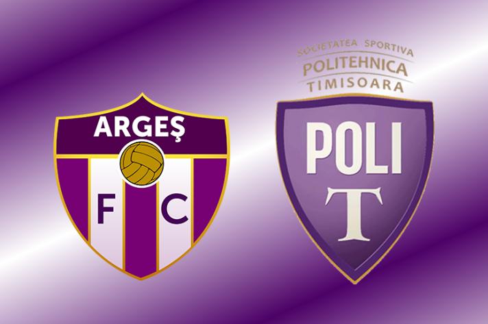 Arges Pitesti e Politehnica Timisoara utilizam antigos escudos usados na segunda metade do século XX