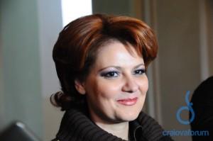Lia Olguta Vasilescu ameaçou desistir de um novo Ion Oblemenco quando o contrato de licitação já tinha dono (foto: Florin Tomescu/CraiovaForum)