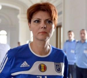 Lia Olguta Vasilescu apoiou o FC Universitatea Craiova em sua campanha eleitoral em 2011