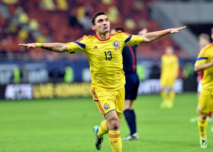 Keseru fez os dois gols da  segunda vitória romena no comando de Iordanescu: 100 de aproveitamento