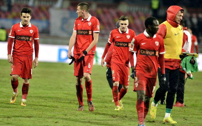 Dinamo colecionou fracassos em 2014 (foto: Adevarul)
