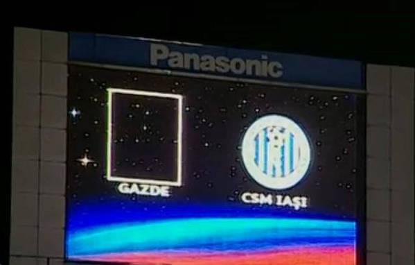 """Os """"anfitriões"""" venceram o CSMS Iasi por 1x0"""