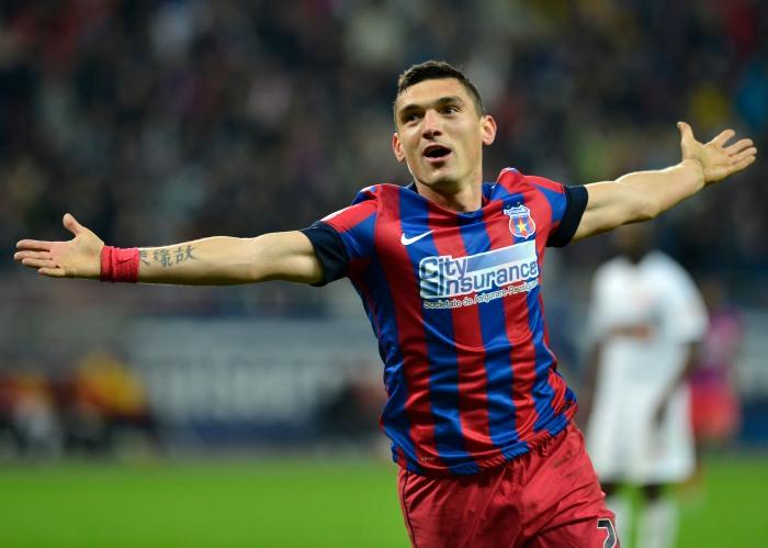 Só na Liga I 2014-15, Keseru fez 12 gols e é o artilheiro da competição (foto: Fanatik.ro)