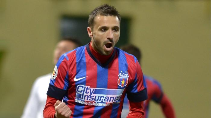 No Steaua e na seleção, a criação da jogada passa por Sânmartean (foto: Fanatik.ro)