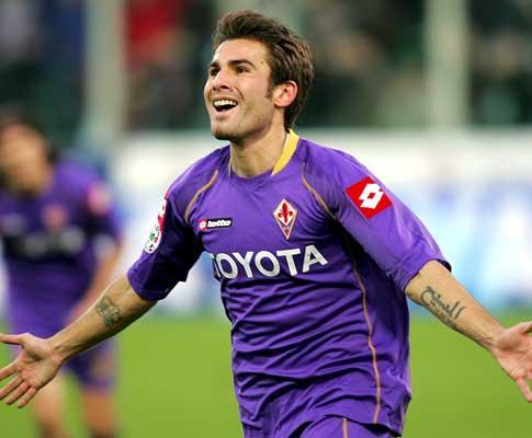 A Fiorentina marcou o grande momento da carreira de Briliantul