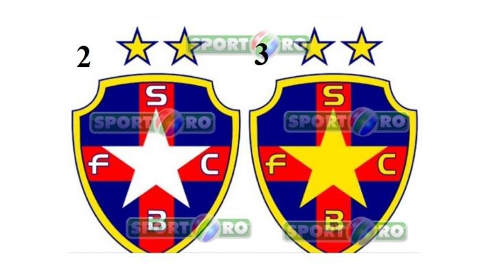 Novas opções de escudo usam azul e vermelho, cores em princípio proibidas pelos direitos exclusivos do Exército