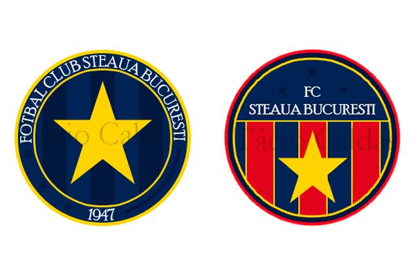 Tácio Caldas fez duas versões, uma predominando o azul incluindo o ano de fundação do clube, e outra com a combinação ros-albastru e detalhes em amarelo.