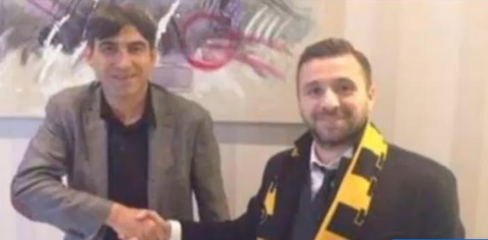 Lucian Sânmartean é o novo jogador do time de Victor Piturca