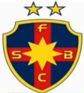 Uma terceira opção continua com a estrela de Davi com oito pontas, símbolo religioso usado por Gigi Becali, que é católico ortodoxo fervoroso