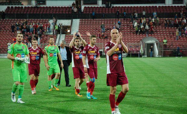 CFR Cluj passa por grave crise financeira e sério risco de rebaixamento
