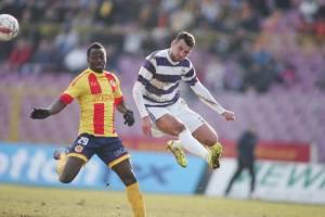 Mediop, é o artilheiro do ripensia, com 18 gols em 19 jogos (foto: Adrian Pîclișan/Sport9.ro)