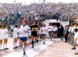 """Entrava em campo o Universitatea Craiova, liderados pelo """"Ministro da Defesa"""", o zagueiro Costica Stefanescu"""