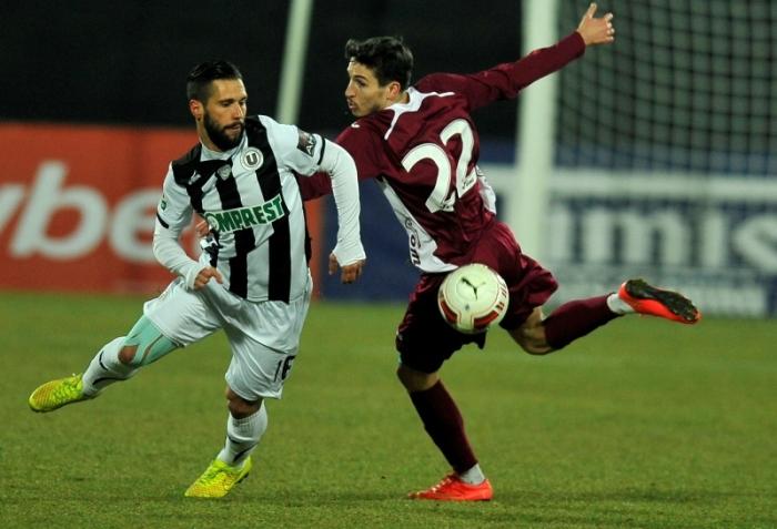 O U Cluj não aproveitou a vantagem de um jogador (foto: ProSport)
