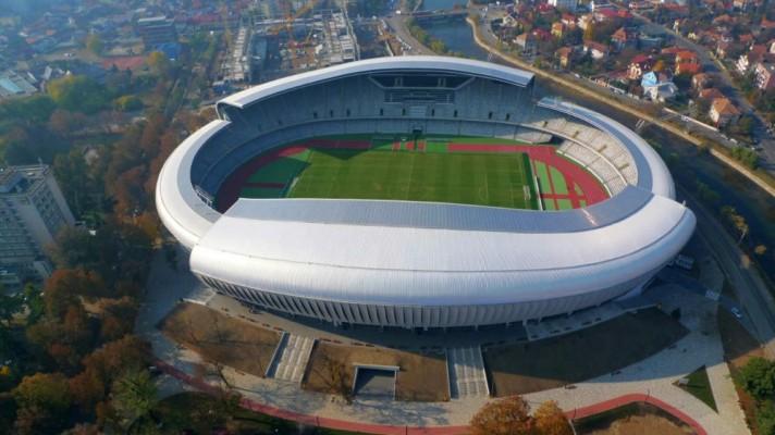 Conforme a diretoria do Târgu Mures, a equipe vai mandar seus jogos na Cluj Arena caso alcance a fase de grupos