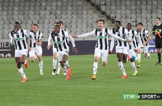 Universitatea Cluj ainda não fez gols em 2015, mas vai disputar a final da Copa após 50 anos (foto: Daniel Rus/Stiri de Sport)
