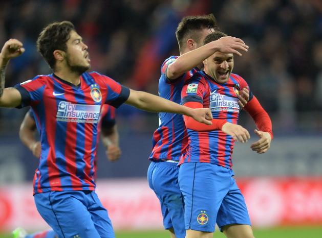FCSB é o líder da Liga I, chega está na final da Copa da Romênia e já está na final da Copa da Liga (foto: ProSport)